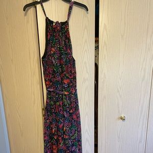 ModCloth Floral Maxi Dress